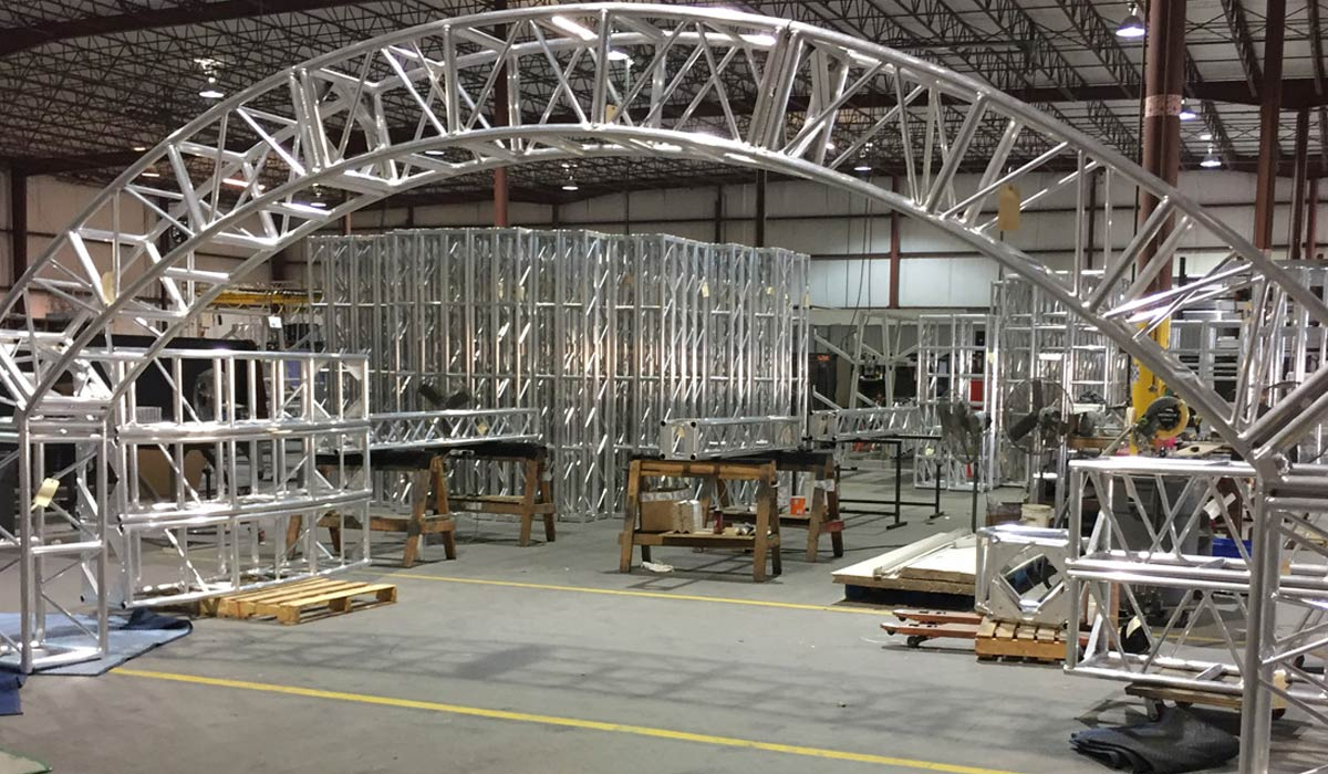 Goal Post Aluminum Truss Systems and Kits | Live Production