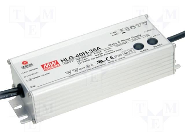 Mean Well HLG Series LED / LED Driver