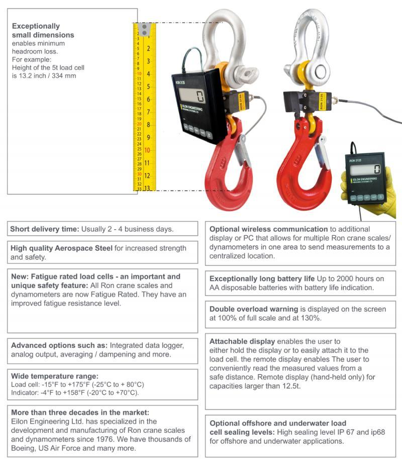Ron 2125 Crane Scales