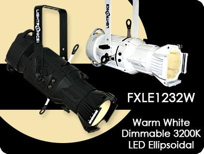 FXLE1232W Warm White  Dimmable LED  Ellipsoidal Lighting Fixture