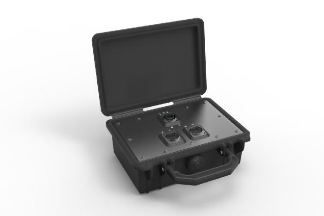 opticalCON QUAD Breakout Box NO4*BB2D-A