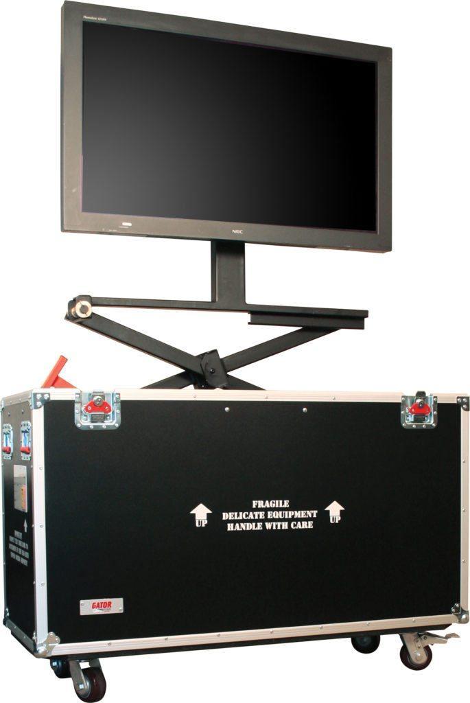 65″ LCD/Plasma Lift Road Case