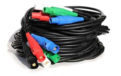 5-Banded Cam Lock Cable Extensions