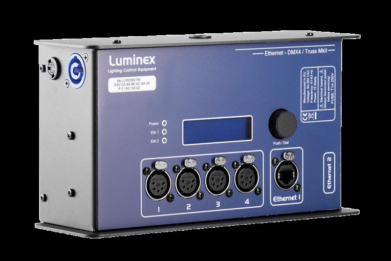 Ethernet-DMX4 Truss