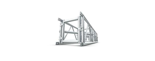 Medium Duty Folding Truss 20.5 x 20.5 Spigoted
