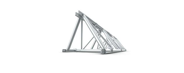 Folding Triangle Truss 26 Spigoted
