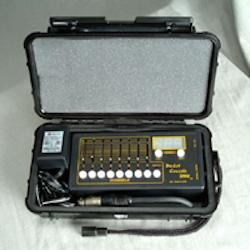 Pocket Console® DMX with Moving Light 8 Page Multi-Patch