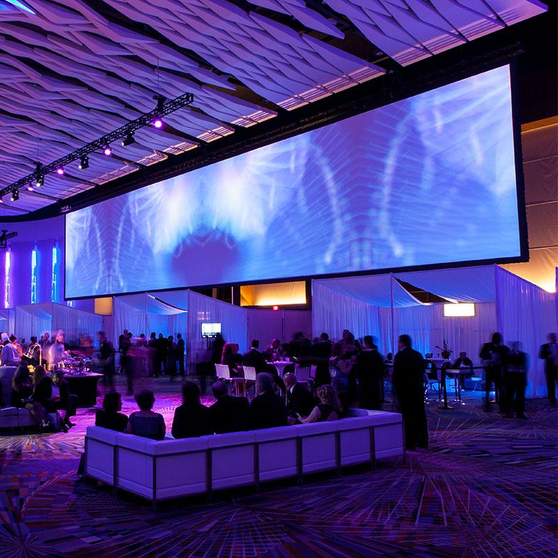 StageScreen Portable Projection Screen®