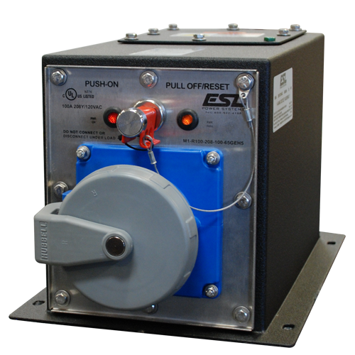 100A 208Y/120VAC Pin & Sleeve Company Switch