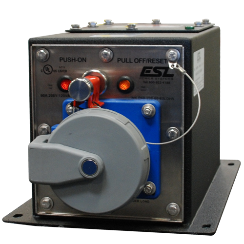 60A 208Y/120VAC Pin & Sleeve Company Switch