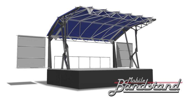 FrontRow 4300 Bandstand Mobile Staging