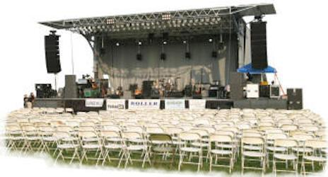 FrontRow 6000 Mobile Concert Stages