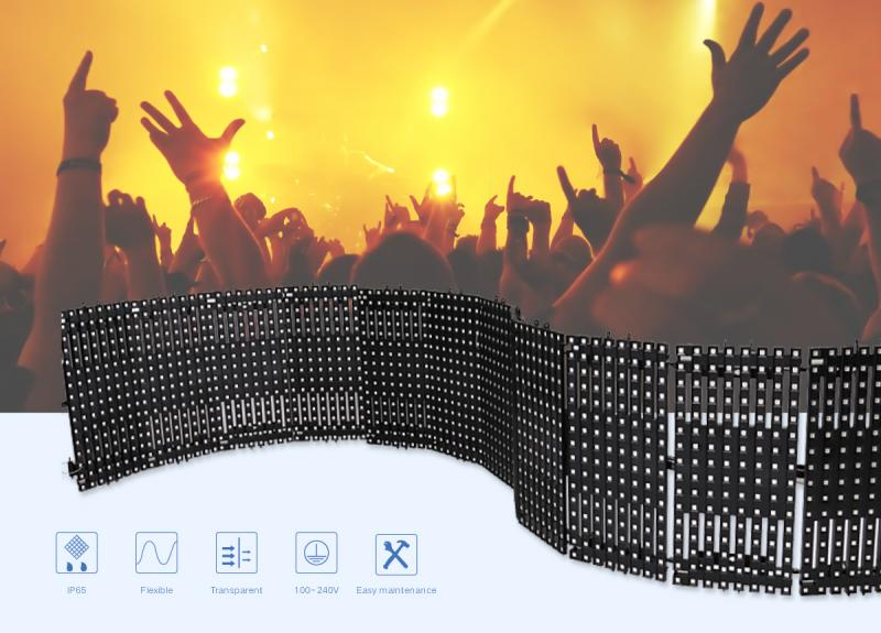 LED P18.75 Flexible Curtain