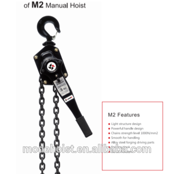 M2 Manual Hoist Mode Lever block lifting chain hoist with 1Ton 2 Ton 9M chain, View Manual chain hoist, Mode Product Details from MODE Science & Technology (Beijing) Co., Ltd. on Alibaba.com