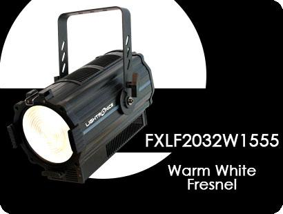 FXLF2032W1555 Warm White Dimmable LED  Fresnel Lighting Fixture