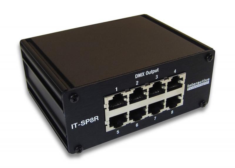 IT-SP8R DMX Splitter