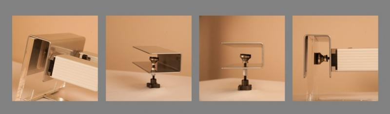 FUEL Lighting Systems — Shelf and Glass Railing Clamp