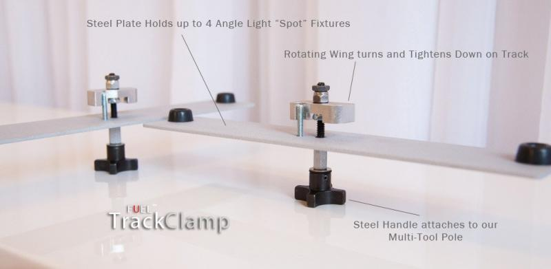 FUEL Lighting Systems — Air Wall Track Clamp