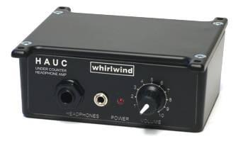 HAUC - Under Counter Active, Stereo Headphone Control Box - Catalog - Whirlwind