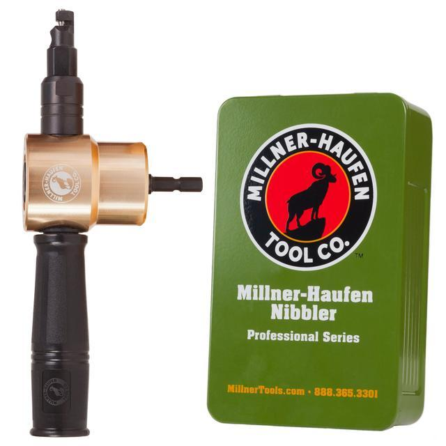 Professional Series Nibbler – Millner-Haufen Tool Co.