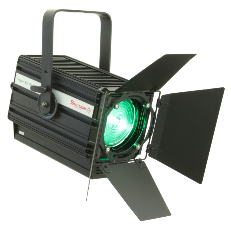 Fresnel, LED, 250W, RGBW - Spotlight