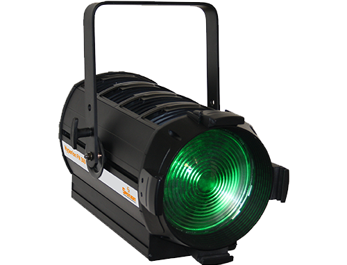 Hyperion Fresnel 300W 6 colours - Spotlight