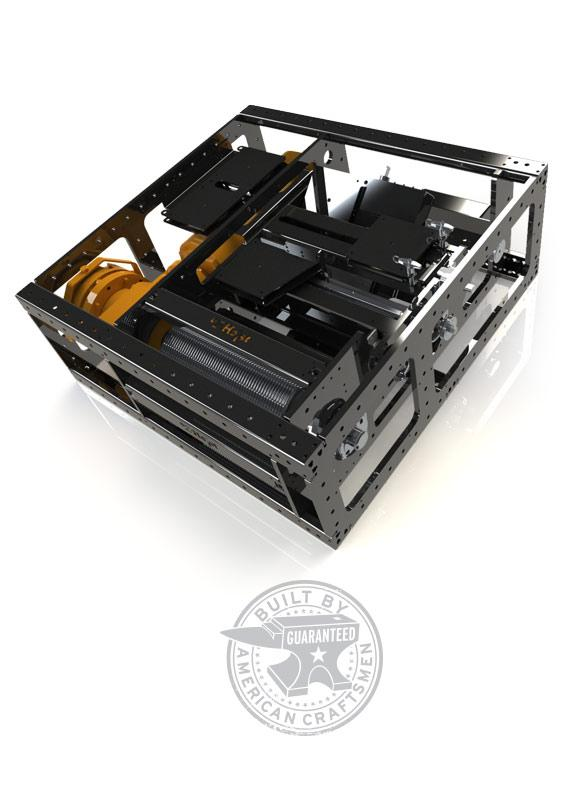 eZ-Rider: Zero Fleet Deck Winch   eZ-Hoist Automation