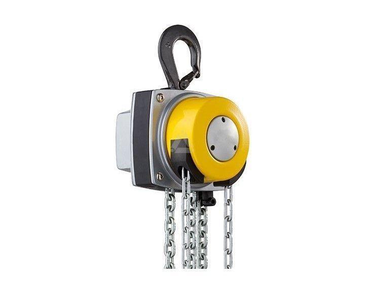 Manual Chain Hoists 1000kg, rotating hand chain guide