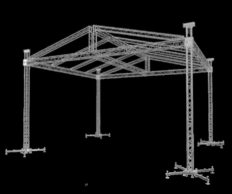 Roofs | Truss Aluminium Factory