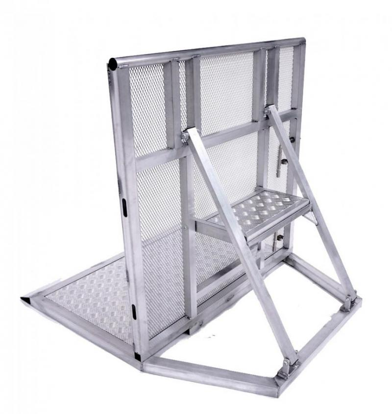 Crowd Control Barricade - Aluminum