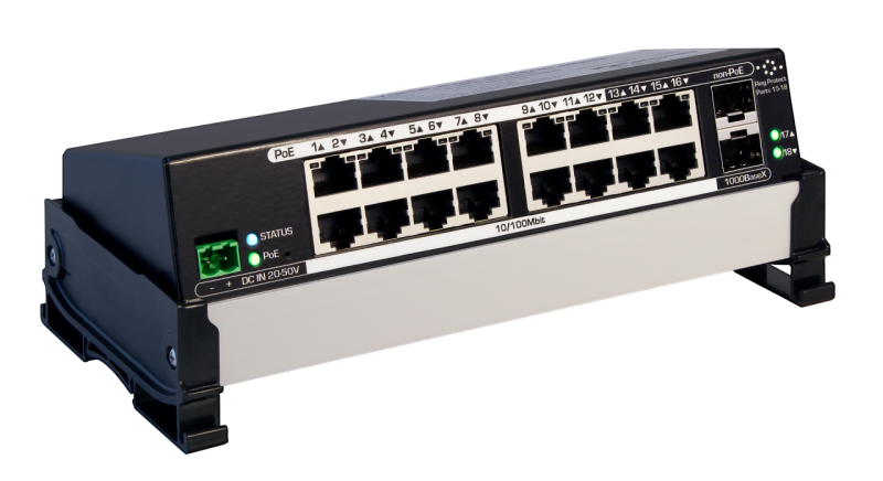 Pathway VIA16 Ethernet Switch, eDIN