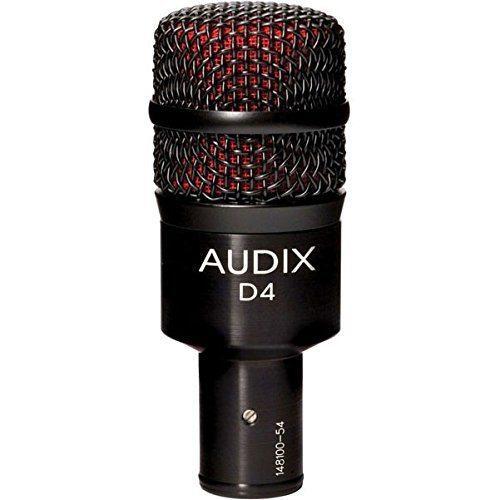 Audix D4 Hypercardioid Instrument Mic