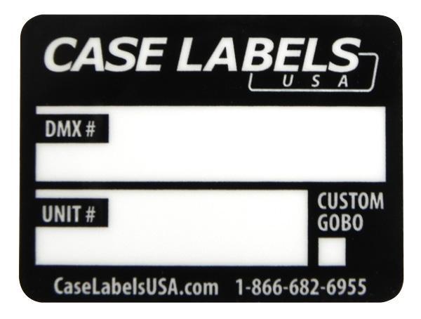 DMX Labels