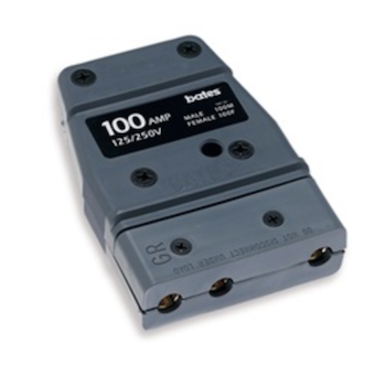 Bates Stage Pin (100A / 125V) Female Inline
