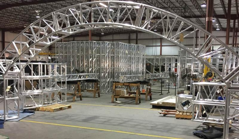 Goal Post Aluminum Truss Systems and Kits   XSF Truss