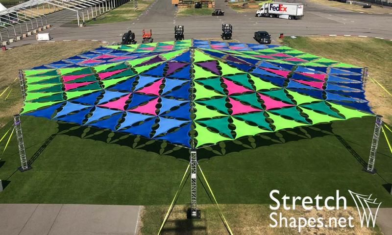 Custom Shade Structure - Stretch Shapes