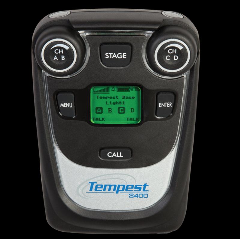 Tempest 2.4GHz 4-Channel Wireless BeltStation