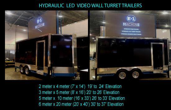 E-1 LED VIDEO TRAILERS