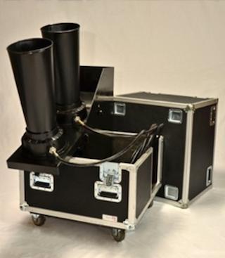 """Continuous Flow Confetti Gerb Launchers - 6"""""""