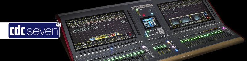 CDC seven-s - Cadac Digital Mixer