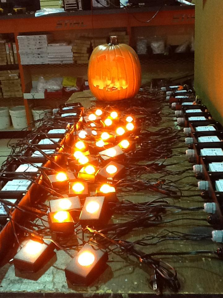Birket Specialty Lighting - Pumpkin Puck