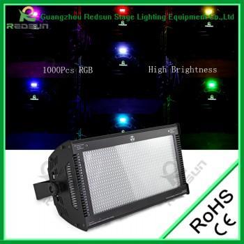 1000PCS LED RGB Strobe Light - GUANGZHOU REDSUN STAGE LIGHTING EQUIPMENT CO., Ltd