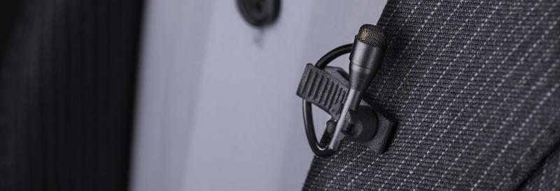 DPA Lavalier microphones - The best sound is close to the source