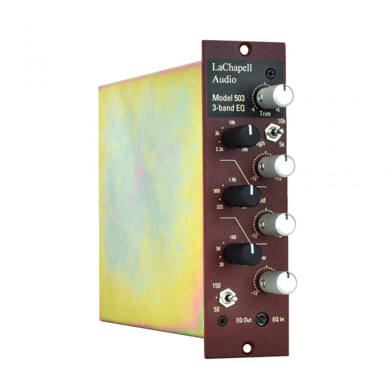 LaChapell Audio 503 - 500 Series EQ module for tracking and mastering