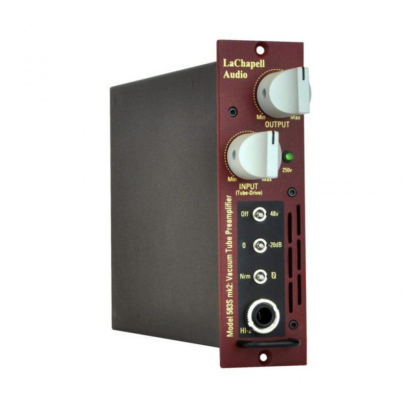 LaChapell Audio 583 MK2 - 500 Series Tube Mic Preamp