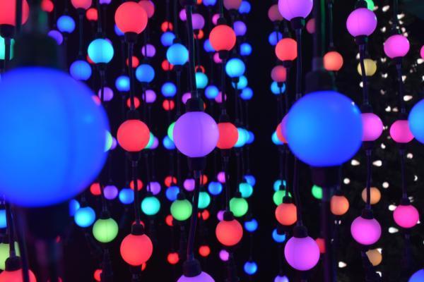 RGB LED TrikLits, RGB Ball Lights, LED Ball Lighting, RGB LED Orbs,