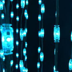 RGB LED Pebble Strings, Minleon RGB LED Pebble Lights, LED Pebbles