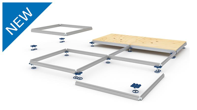 Aluvision | Product overview | Discover our product range - Step flooring system