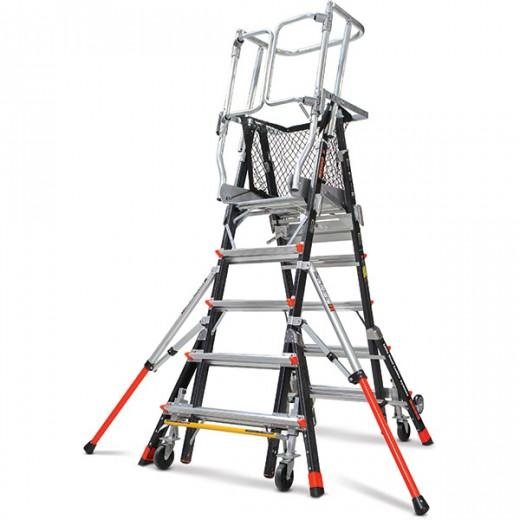 Adjustable Safety Cage | Little Giant Ladders