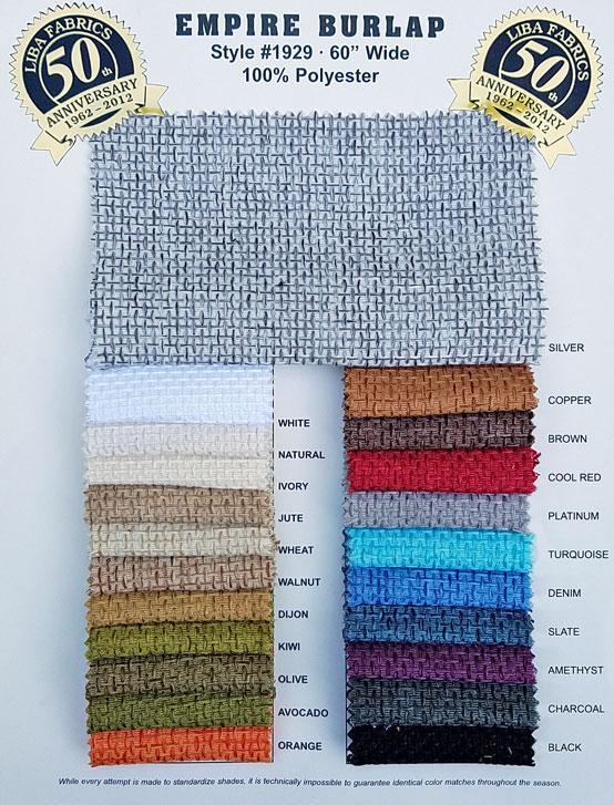 Empire Burlap :: Liba Fabrics
